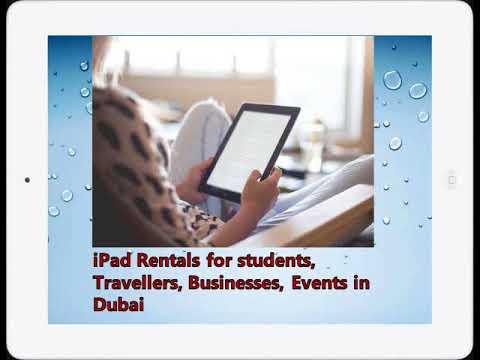 Benefits of Apple iPad Rentals