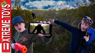 Mystery Creature Sabotage! The Sneak Attack Squad Has a Nerf Battle with the Strange Beast!