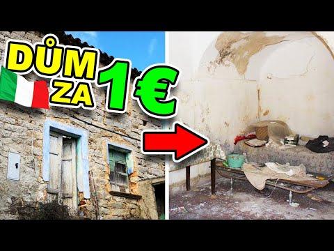 Talianske domy predávané za 1 €