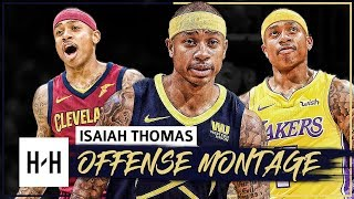 Isaiah Thomas Full BEST Offense Highlights Montage 2017-2018 - Welcome to the DENVER NUGGETS!
