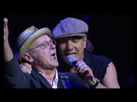 AC/DC - Brian Johnson e Billy Mitchell -