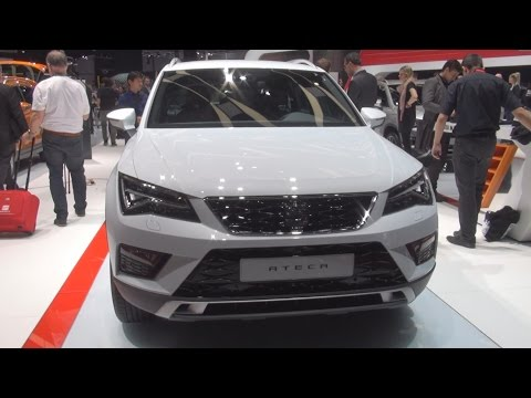 Seat Ateca (2016) Exterior and Interior in 3D