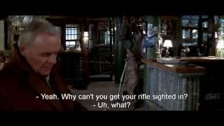 """The Edge (1997) 720p HD """"Rabbit Smoking A Pipe"""" Scene / Clip"""