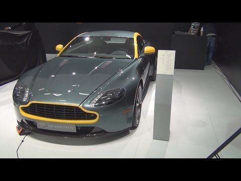 Aston Martin V8 Vantage N430 Coupé (2015) Exterior and Interior in 3D