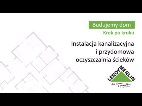 Instalacja kanalizacyjna i przydomowa oczyszczalnia ścieków (31/53)
