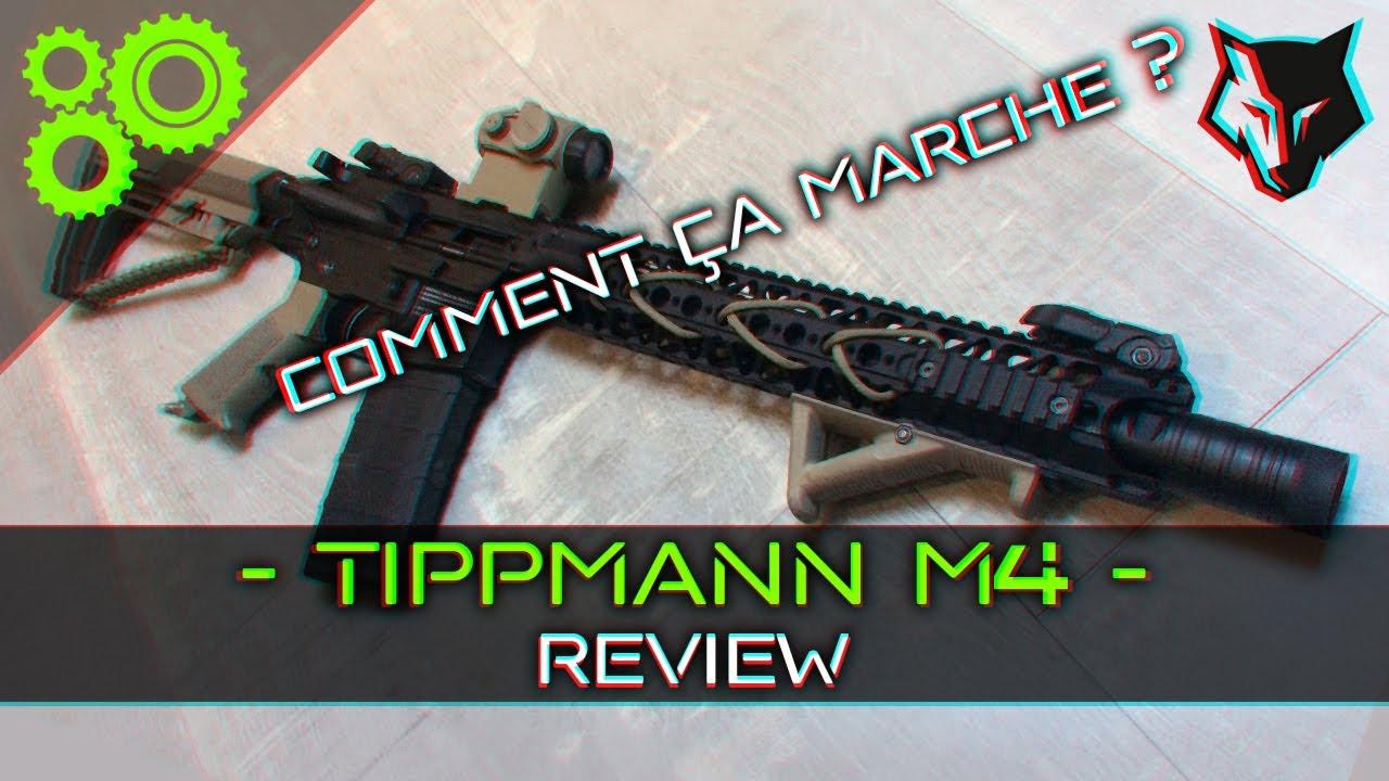 Tippmann M4 Review - Comment ça marche ?! ► AIRSOFT