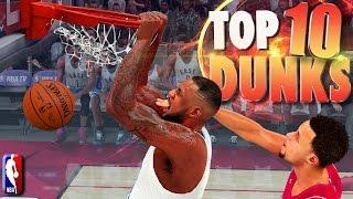 NBA 2K16 TOP 10 DUNKS, POSTERS, Alley-OOps, Putbacks Of The WEEK! #3