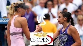 Sharapova vs Bartoli | 2012 US Open Highlights
