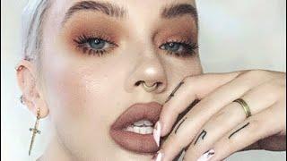 easy, warm, everyday grunge look / makeup tutorial / updated foundation routine