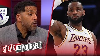 Lakers should focus on winning title, not win record — Jim Jackson | NBA | SPEAK FOR YOURSELF