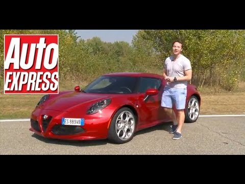 Alfa Romeo 4C review - Auto Express