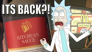 Rick and Morty | Szechuan Sauce Is Coming Back to Mcdonalds?!
