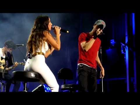 Enrique Iglesias e India Martinez-Loco-Starlite 2015