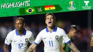 Brasil vs. Bolivia: 3-0 Goals & Highlights | Copa América | Telemundo Deportes