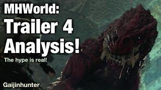 Monster Hunter X Trailer 4 Analysis