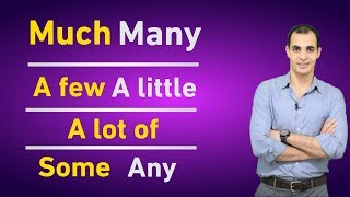 شرح Many , Much , little , a lot of , some في اللغه الانجليزيه : قواعد اللغة الانجليزية كاملة 10