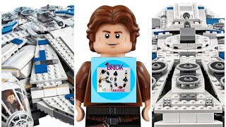 Lego Star Wars Kessel run Millenium falcon 75212 official pictures