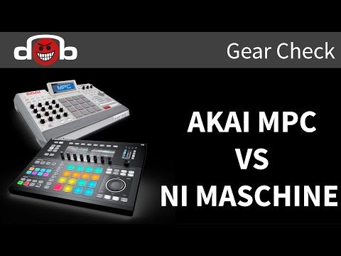 MPC Renaissance VS Maschine Studio Review