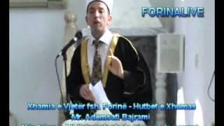 Zemrat e atyre që janë të lidhura për Xhamive do të jenë nën hijen e All-llahut xh.sh