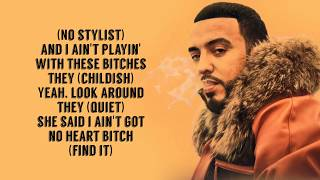 French Montana - No Stylist Ft. Drake (Lyrics) 4k!