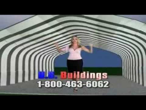 Steel buildings, Metal buildings, Prefab Buildings.wmv