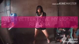 Bitch Better Have My Money- Rihanna Tine Coo Dance Cover (BlackPink Choreography)