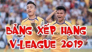 Bảng xếp hạng sau vòng 13 V-League 2019 | TPHCM vô địch lượt đi | HAGL xếp thứ 10 | SLNA hạng 4