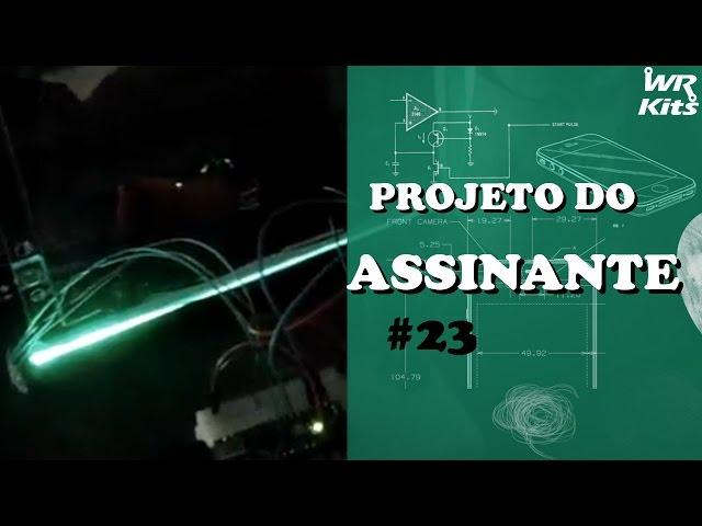 LUMINÁRIA RGB COM LEITOR DE SCANNER E ARDUINO | Projeto do Assinante