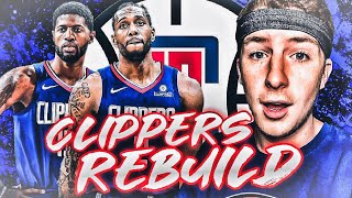 I Turned This LA Team Into A Defensive God Squad... Clippers Rebuild!