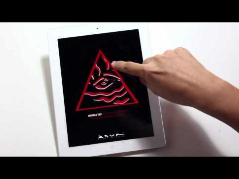 Conceptual iPad Magazine Ad