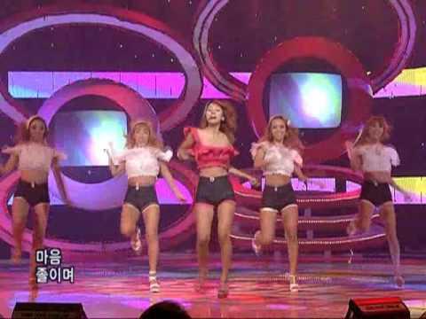 LeeHyori - U go Girl (이효리-유고걸) @SBS Inkigayo 인기가요 20080803
