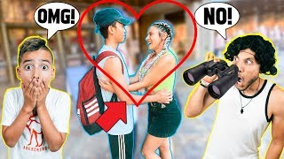 SPYING On My WIFE In PUBLIC! **CAUGHT HER** | The Royalty Family