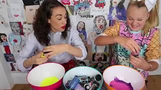 TEACHING MIRANDA HOW TO MAKE SLIME!