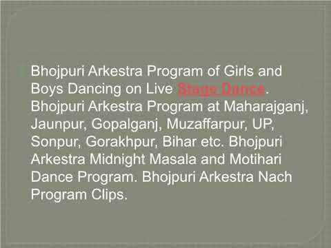 Bhojpuri Arkestra Village Dance Recording – Arkestra Naach Program Videos