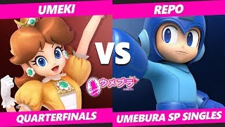 Japan Smash Ultimate Tournament - Umeki (Daisy) Vs. Repo (Mega Man) Umebura SP SSBU Quarterfinals