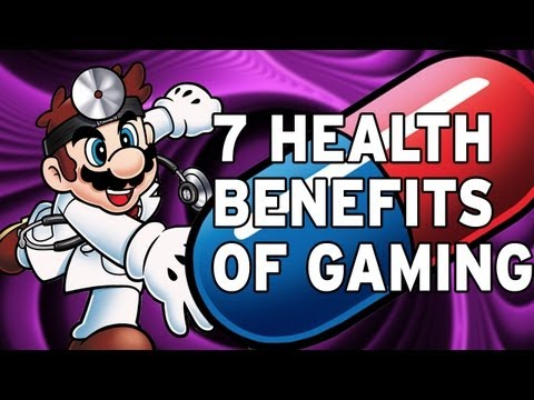 7 Health Benefits of Video Games