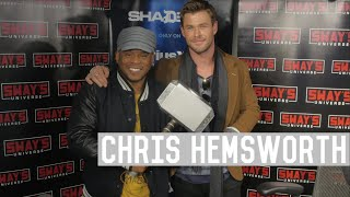 """Chris Hemsworth Talks About Thor As A Sex Symbol, Miley Cyrus and His New Film """"12 Strong"""""""
