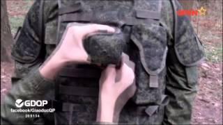 Áo giáp chống đạn 6B43 của Nga