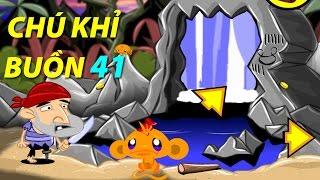 Game chú khỉ buồn 41 - Hướng dẫn chơi game 24h