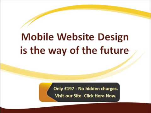 Mobile Web Design London (+0) 20 3289 7533 | £197 Only