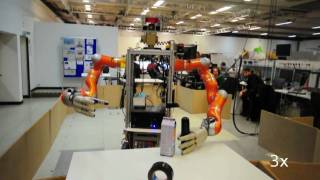 Robot manipulation at the TUM (Munich) October 2009
