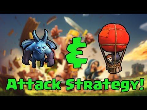 استراتژی حمله با بالون و مینیون