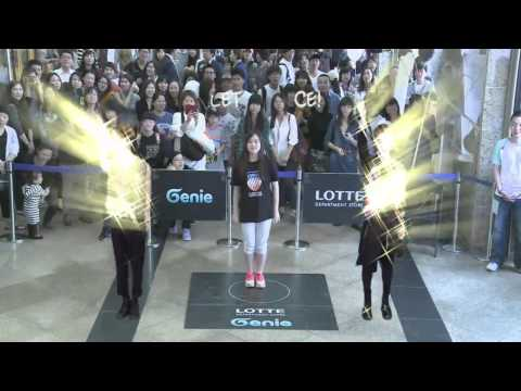 Genie AR Stage with S.M.Artist (Lotte Department Store)