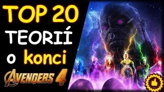 TOP 20 TEORIÍ o konci AVENGERS 4