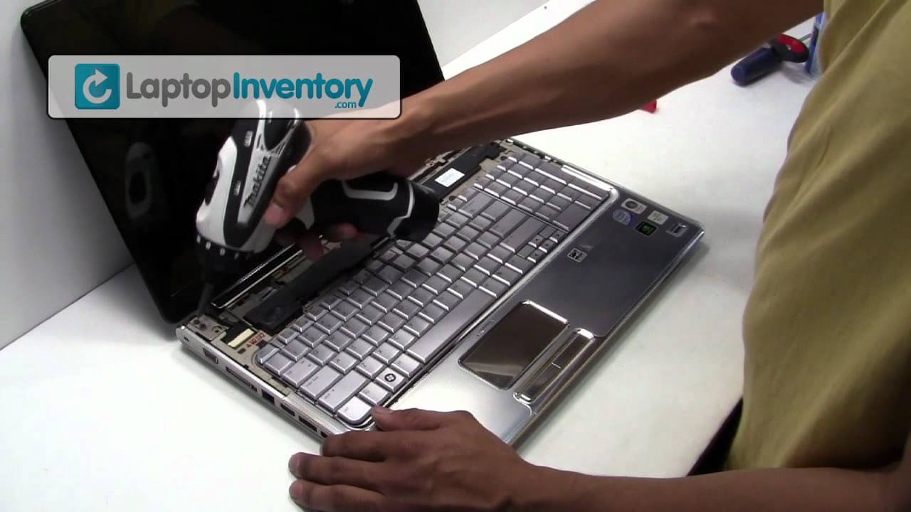 How To Install A Battery >> HP Compaq DV7 DV6 Laptop Repair Fix Disassembly Tutorial ...