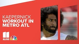 LIVE replay |  Colin Kaepernick workout in metro Atlanta