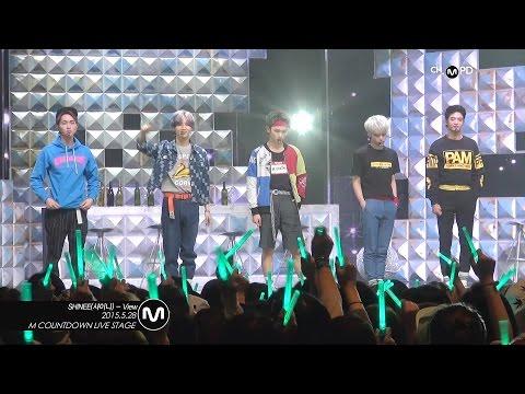 [MPD직캠] 샤이니 직캠 View SHINee Fancam Mnet MCOUNTDOWN 150528