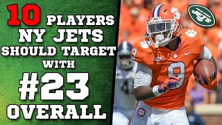 10 Players the Jets Should Draft with the #23 Pick
