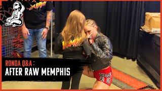 Ronda Rousey's Post-RAW Memphis Q&A (Sasha Banks, Nia Jax & Royal Rumble thoughts)