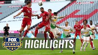 Bayern on verge of title after Goretzka's winner beats Monchengladbach   2020 Bundesliga Highlights
